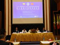 The 3rd Myanmar-China Think Tank Forum held in Rangoon from May 21 to May 22